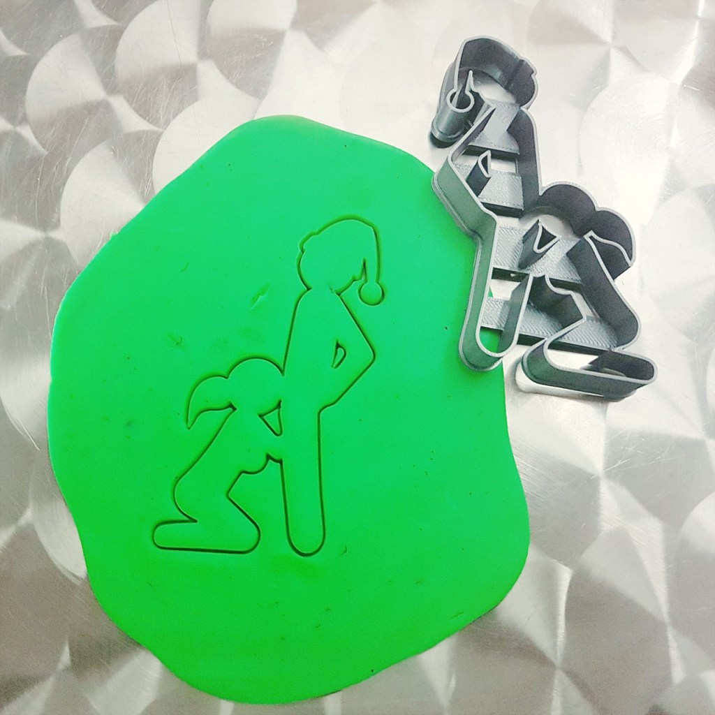 Sex Position Naughty Christmas Cookie Cutter Test