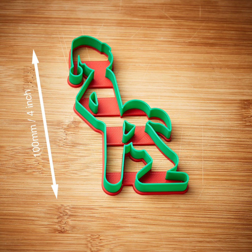 Sex Position Naughty Christmas Cookie Cutter