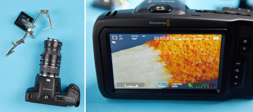 reverse macro lens